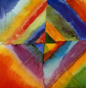 """Résultat de recherche d'images pour """"Kandinsky """"Colour Study"""""""""""